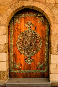 Citadelle de Saladin, Le Caire, Egypte #photo #porte #door #voyage #travel #orange #Shadizm Via https://500px.com/photo/58579358/the-door-by-shady-al-mahmoudi