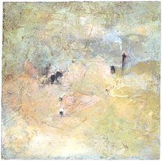 "Skot Foreman Gallery Macuria (Merc) Montolanez ""Cloud Walk"" 2003 Encaustic on board 22 x 22 in 56 x 55 cm Hand-signed verso Fine Art Gallery, Contemporary Paintings, Pop Art, Street Art, Abstract Art, Cloud, Artwork, Artist, Expressionism"
