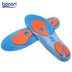 Bocan Gel pohjalliset iskunvaimennus Pehmeät mukavat urheilulliset  pohjalliset miehet ja naiset Foot Pain   Plantar Fasciitis helpotus 4794bcb4f6