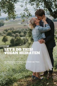 Nachhaltig(er) heiraten zum Wohl der Tiere | vegane Hochzeit Green Wedding, Our Wedding, Once In A Lifetime, Vegan Lifestyle, Midi Skirt, Zero Waste, Tricks, Photography, Passion