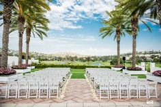 Incedible view at this wedding ceremony! San Diego Wedding Venues, Luxury Wedding Venues, Beautiful Wedding Venues, Perfect Wedding, Destination Wedding, Wedding Ceremony, Wedding Day, Outdoor Events, Resort Spa