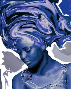 Yemaya Okute, by Liz Loz