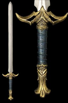 Great sword Source by zaferoozkan Fantasy Sword, Fantasy Weapons, Swords And Daggers, Knives And Swords, Great Sword, Cool Swords, Sword Design, Armadura Medieval, Cosplay Weapons