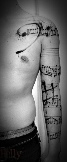 Unique Music Tattoo Design Ideas For Music Lovers (16)