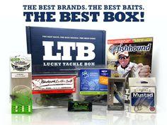 July 2015 Lucky Tackle Box Largemouth Bass Subscription Box