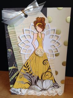 Prima Doll greeting card.