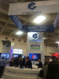 Informative Staff at CYBERARK #CYBERSECURITY
