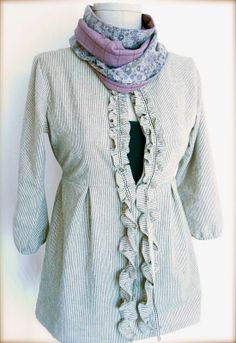 another schoolhouse tunic - pretty!