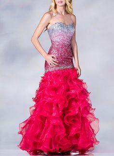 robes de soirée  robe de gala sublime rose par TENDANCEFASHIONCHIC, $375.00