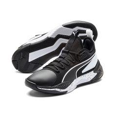 PUMA Chaussure Basket '68 Mid, BlancBleu, Taille 40.5