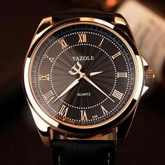 07b02054a2e YAZOLE Wristwatches Busiiness Wrist Watch Men Top Brand Luxury Famous Male  Clock Quartz Watch for Men Hodinky Relogio Masculino