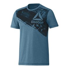 Camiseta de hombre Speedwick Blend Craft Reebok Free T Shirt Design, Shirt Designs, Cool Shirts For Men, Polo Shirt Outfits, Masking, Sport T Shirt, Casual T Shirts, Apparel Design, Workout Shirts