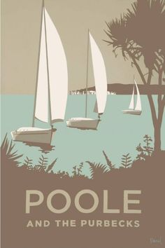 Travel poster poole