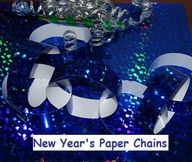 New Year's Paper Chains