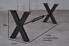 Resultado de imagen para diseño de mesas de quincho metal y madera