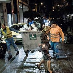 Πέρασα ένα Βράδυ Μαζεύοντας τα Σκουπίδια του Κολωνακίου