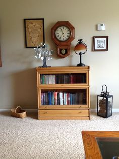 This Bookcase belonged to my grandfather on my dad's side. I got one and my brother got the other.