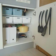Kitchen/無印良品/ダイソー/IKEA/収納/100均...などのインテリア実例 - 2016-07-18 02:21:30