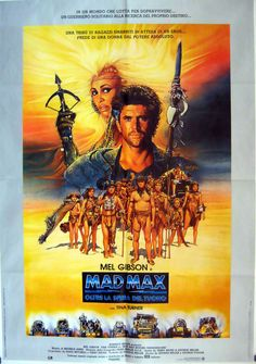 Original Film Title:  MAD MAX, BEYOND THUNDERDOME  Poster Title:  MAD MAX  Director:  GEORGE MILLER  Year:  1985  Film Nationality:  AUSTRALIA