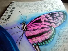 I love the butterfly...but the blog entry to go with this is even better <3