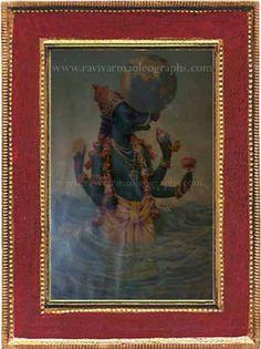 Ravi Varma Old Prints,Oleographs,Antique Prints,Lithographs,Old Paintings Ravivarma Paintings, Raja Ravi Varma, Lord Vishnu Wallpapers, Mughal Empire, Antique Prints, Hinduism, Incredible India, Mythology, Art Gallery