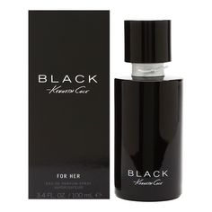 Black for Her By Kenneth Cole EDP Spray 3.4 oz/100 ml, New In Box #KennethCole