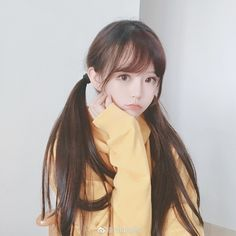 Wang Shu is the youngest and only chinese, and female member of Stray… Fanfiction Asian Cute, Cute Korean Girl, Cute Asian Girls, Cute Girls, Pigtail Hairstyles, Cute Hairstyles, Poses, Japonese Girl, Foto Casual