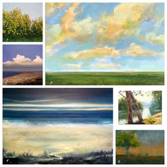 Landscape Paintings | This Handmade Life