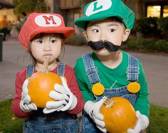 This is awesome. Keenan wants to be Luigi this year, and we're definitely going the homemade route.