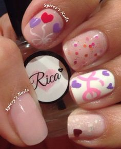 """More """"LOVE"""" nails"""