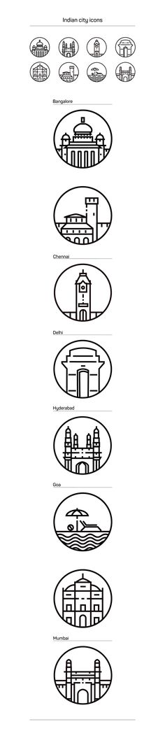 I created these city icons for redBus as a part of exploring the theme of travel in different Indian cities. These were inspired from my experiences of travel in India.