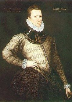 A portrait of Sir Philip Sidney, warrior-poet and brother of Mary Sidney-Herbert, Countess of Pembroke.