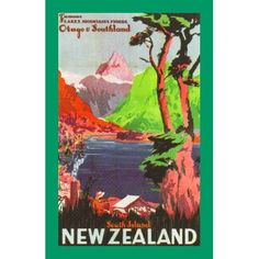 South Island New Zealand Print