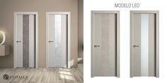 Modelo Leo | Serie Imagin | Puertas de interior | Puertas Castalla Interior Doors, Leo, Mirror, Bathroom, Frame, Furniture, Home Decor, Models, Natural Colors