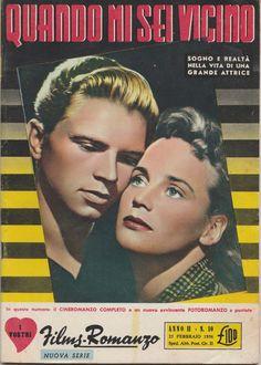 Film-Romanzo QUANDO MI SEI VICINO conM. Schell, H. Kruger 1956  -L5308
