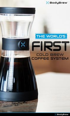 The World's First Cold Brew Coffee System