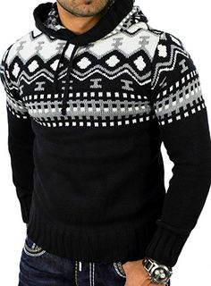 Sweater Jacket, Men Sweater, Beginner Knitting Patterns, Pullover Designs, Pullover Hoodie, Men Design, Mens Fashion, Fashion Outfits, Mens Clothing Styles