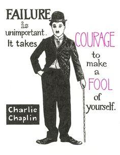 Charlie Chaplin by Alison Kolesar