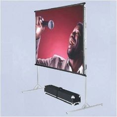 BriteWhite Porta-Fold Front Projection Complete Screen Kit - 8' x 12' AV Format by Vutec. $1034.99. 01-PF96-144BW (Kit) Features: -Folds down to fit into a travel case.-Front or rear screens.-Short text: The Lectric I, Vutec's most popular motorized projection screen features a durable all aluminum housing for wall or ceiling applications. Representing the best value in its class, Lectric 1 comes standard with value-added features, including Vutec's EMS EZ-Mou...