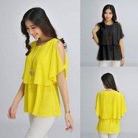 New #Womens Design Fashion Dot Printing Loose #Retro Chiffon #Dress 2 Color K_W1764