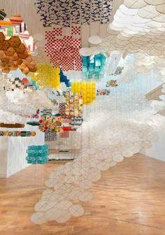Jacob Hashimoto - Selected Exhibitions - MOCA Pacific Design Center2014