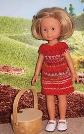 Ravelry: Another Cute Dress for Les Cheries - a free pattern by Janice Helge