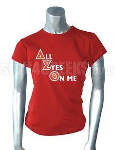 Cute deltaversary idea i am a delta girl for Cute greek letter shirts