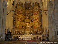 Santa María Magdalena en la Basílica de Llanes