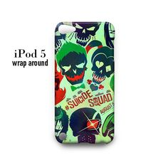 Suicide Squad iPod Touch 5 Case Wrap Around