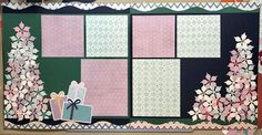 Learn how to create this fun holiday scrapbooking layout using the Sugarplum Collection and Poinsettia Punch by Creative Memories.