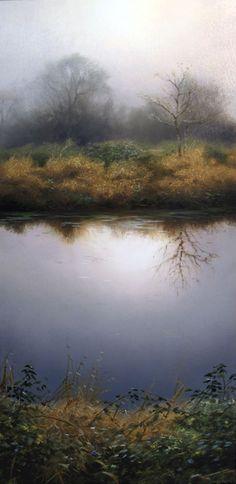 "https://www.facebook.com/MiaFeigelson ""North canal in February"" (2013) By Renato Muccillo, from Canada - oil on canvas; 12 x 24 in - http://renatomuccillo.com/home.html https://www.facebook.com/pages/Renato-Muccillo-Fine-Arts-Studio/104517059583818"