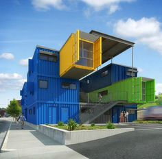 Shipping Container Homes: The Box Office - Providence, R.I. - Container Office http://homeinabox.blogspot.com.au/2012/11/the-box-office-providence-ri-container.html