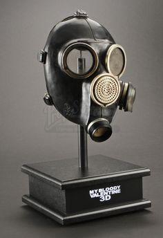 The Miners Gas Mask from My Bloody Valentine 3D