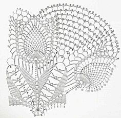 Only Crochet Patterns Archives - Beautiful Crochet Patterns and Knitting Patterns Filet Crochet, Débardeurs Au Crochet, Beau Crochet, Crochet Doily Diagram, Crochet Dollies, Crochet Doily Patterns, Crochet Chart, Crochet Home, Thread Crochet